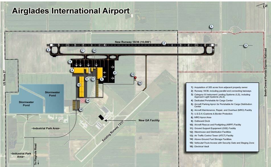 Airglades International Airport (AIA) Takes Major Strides to Establish a US-LatAm Air Cargo Logistics Complex, Announces Importer and Critical Infrastructure Commitments