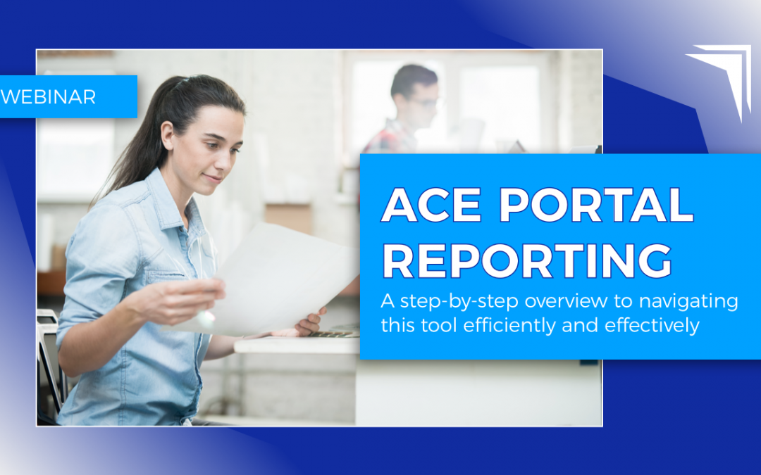 ACE Portal Reporting