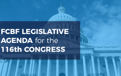 FCBF Legislative Agenda, 116th Congress
