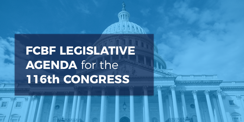 fcbf legislative agenda for the 116th congress