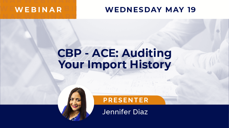 CBP – ACE: Auditing Your Import History