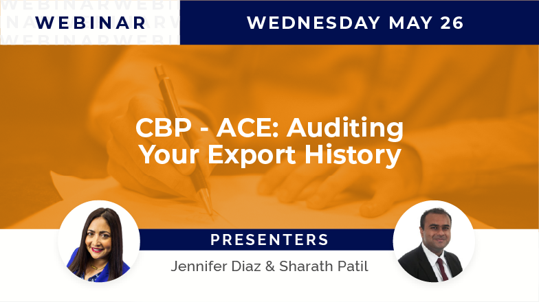 CBP – ACE: Auditing Your Export History